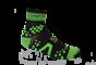 Pro Racing Sock V2 Trail - SVART/GRÖN T5 (strl 46-48)