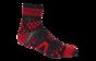 Pro Racing Sock V2 Trail - SVART/RÖD T5 (strl 46-48)