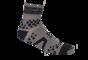 Pro Racing Sock V2 Trail - GRÅ/SVART T5 (strl 46-48)