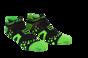 Pro Racing Socks V2 Run Low - SVART/GRÖN T5 (strl 46-48)