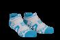 Pro Racing Socks V2 Run Low - VIT/BLÅ T5 (strl 46-48)