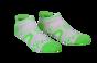 Pro Racing Socks V2 Run Low - VIT/GRÖN T5 (strl 46-48)