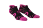 Pro Racing Socks V2 Run Low - SVART/ROSA T5 (strl 46-48)