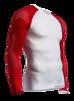 ON/OFF Multisport Shirt Longsleeve - Vit/Röd XL