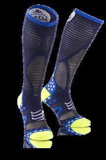 Full Socks UltraLight Racing - UTMB 2016 - BLÅ - T1 (35-38)