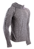 3D THERMO SEAMLESS HOODIE - GREY - XL