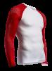 ON/OFF Multisport Shirt UniSex - Longsleeve White/Red XL