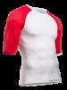 ON/OFF Multisport Shirt UniSex - Shortsleeve White/Red XL