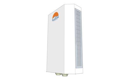 SunDrive ChargeBoost för väggmontage