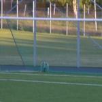 daniel johansson ensam med målis och passar till fredrik nilsson som lägger in 0-2