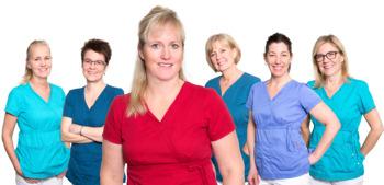 Tandläkarhuset personalgruppbild