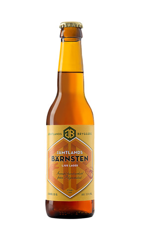 Jämtlands bryggerier Bärnsten produktfoto