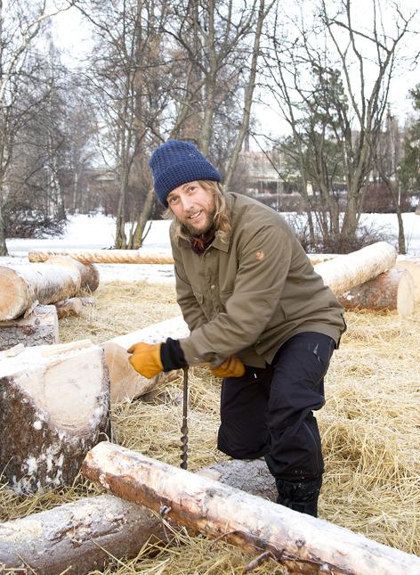 nordic native Emil Eklöv Parkour