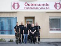Östersund Hushållsservice personalgruppbild