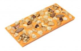 Pralinhuset - Apelsin Choklad - Blandade Nötter