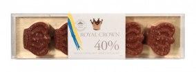 Pralinhuset – Royal Crown - 40% Kakao