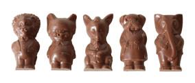 Pralinhuset - Animals - 40% Kakao - 40% Kakao