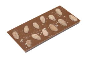 Pralinhuset - 40% Kakao - Mandel & Havssalt - Sockerfri