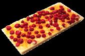 Pralinhuset - Vit Choklad - Röda Vinbär & Apelsin