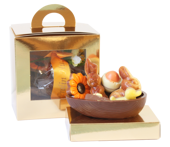 Pralinhusets pralinfyllda Chokladägg - Barnvänlig - 180 gram