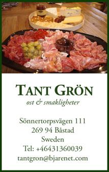 Catering för fest - vi caterar för fest & alla tillfällen. Gårdsbutiken Tant Grön på Bjäre utanför Båstad
