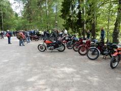Ett bra arrangemang som är värt ett besök, om man är intresserad av gamla tvåhjulingar såklart.