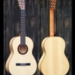 Flamencoguitar built for my father in 2012.