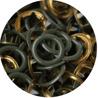 Bronze green ring