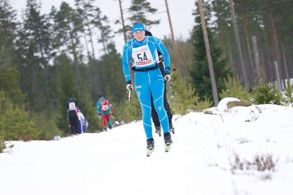 Damsegrarinnan Kristin Barkman . (foto Eskil Laago)