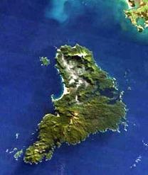 Stewart Island, New Zeeland. Bild: NASA.