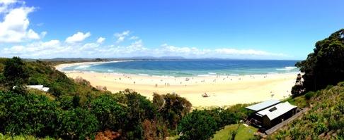 Byron Bay, Australien, NSW.