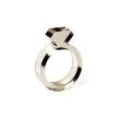 Diamond Acrylic Ring Smoke - Strl 5 / 15,6 mm