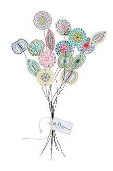 Blom - Pappersblommor
