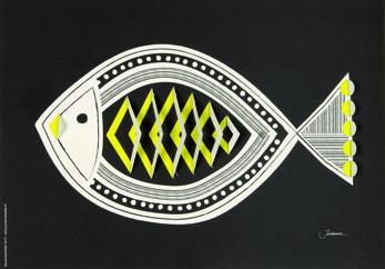 Pop-up Fish - Print