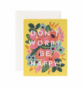 Don't worry be happy - Kort