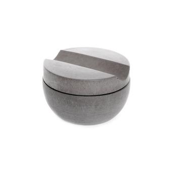 Rakkopp med cederträtvål - Ljusgrå