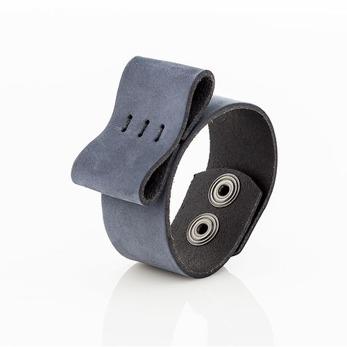 Bracelet Bow, bred - Oily Navy