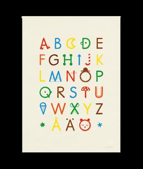 ABC Poster - Natur/Multi