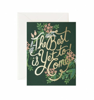 The best is yet to come - Kort