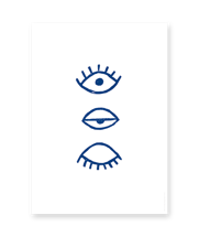 Eye Eye Blå