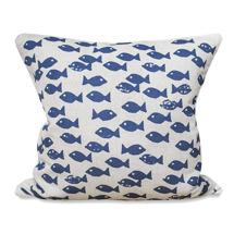 Blue fish kuddfodral