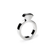 Diamond Silver Ring - Strl 7 / 17,3 mm