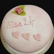 Extra dekor på tårta