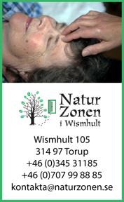 Välkommen att boka in dig på zonterapi . Annette Ivarsson zonterapeut på NaturZonen Wismhult mellan praktik mellan Ullared & Falkenberg