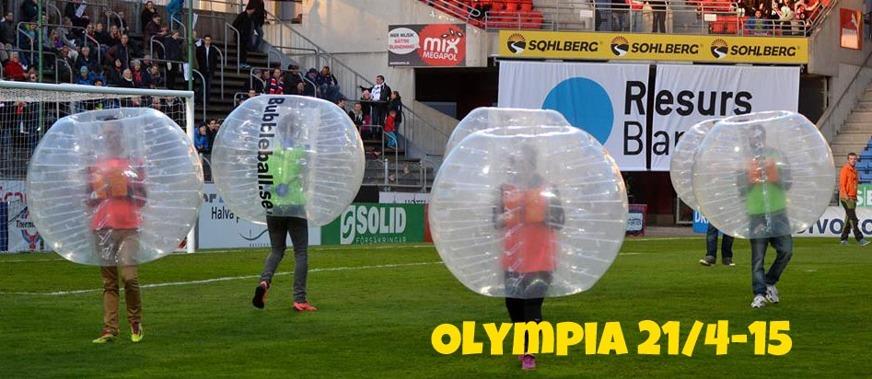 3-kamp BubbleBall Malmö & Helsingborg Specialerbjudande
