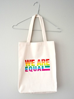 WE ARE EQUAL Bag
