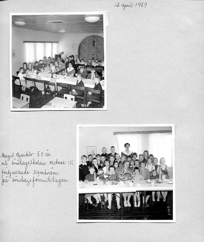 Sid 22. Bilderna visar samma barn som på bilderna ovan! Inskrivet av Kent Friman, 2014-04-27.