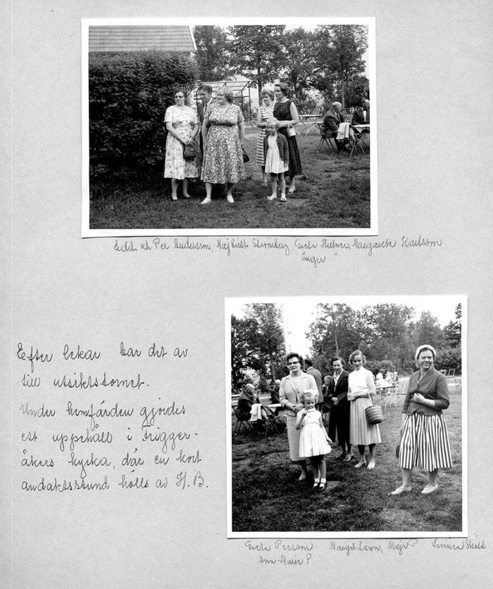 Sid 32. Namnen finns på kartongen - hemvist finns vid bilder ovan! Inskrivet av Kent Friman, 2014-05-28.