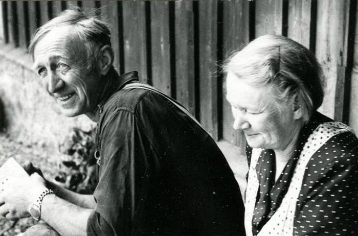Foto 1972 Bo Ramviken. Bild från Gudrun Ramvikens samlingar, Sörgården, Varnhem, 2014.