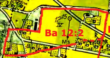 1844-1853 års Laga skifte skapade en äga Ba 1/4 mtl Smedsgården - därefter 12:2